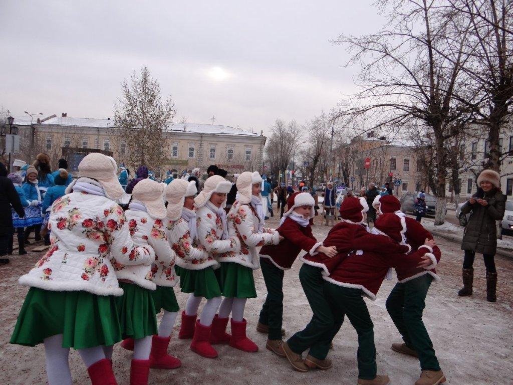 Зимние хороводные игры